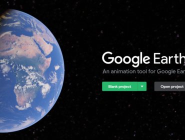 Google Earth Studio Splash Screen