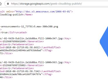Google Cloud Storage Blog Posts